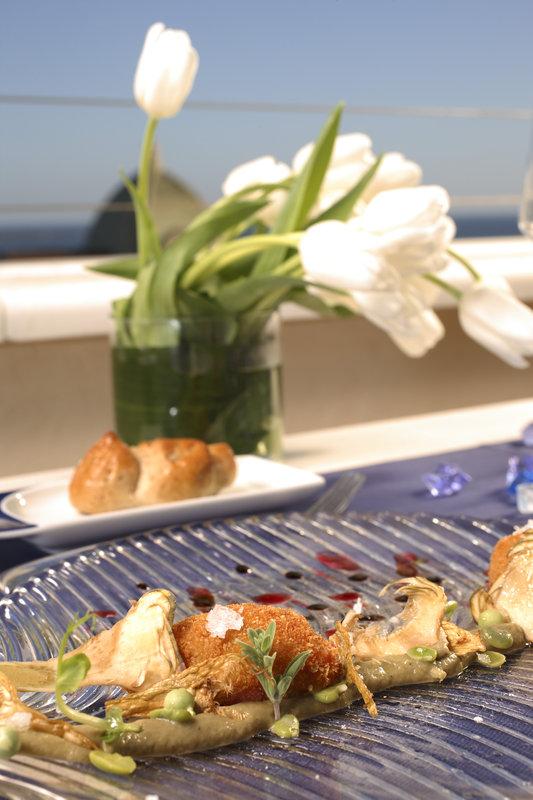 Gourmet dish at the Michelin Star Restaurant