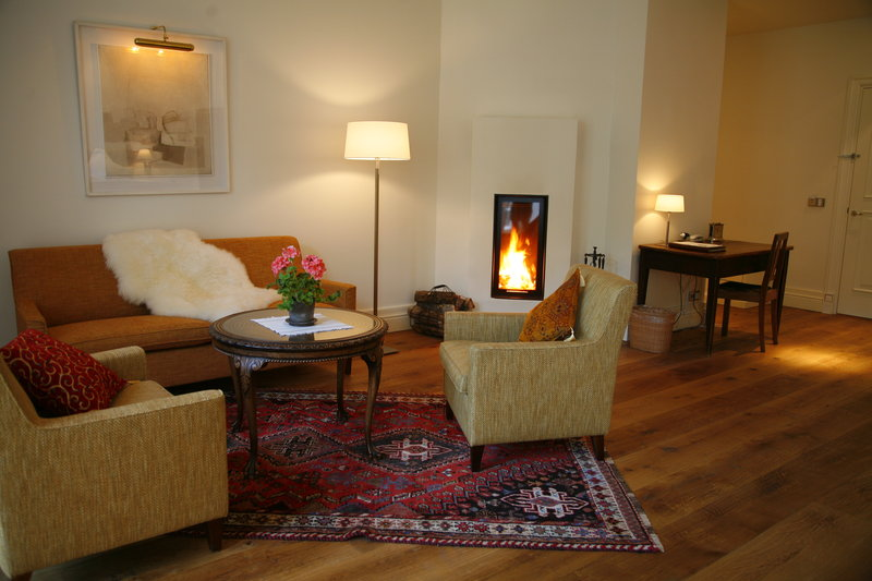 Superior Junior Suite in the Manor House - firepla
