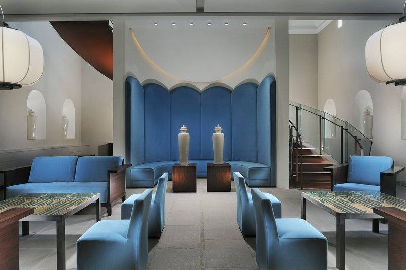 Chini Pavilion - The lobby