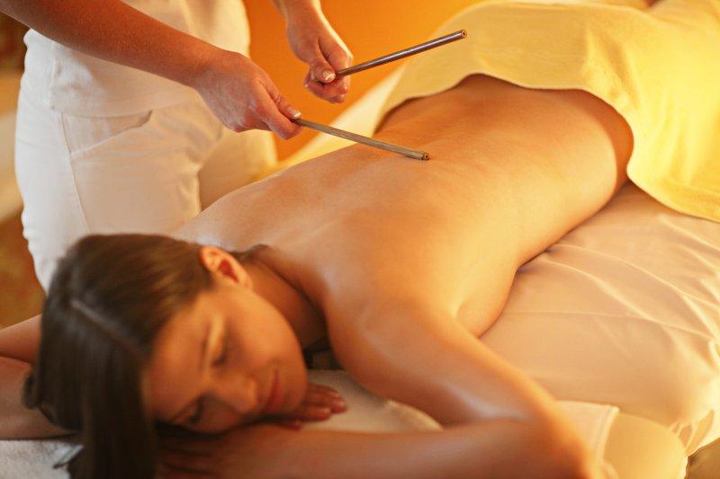 Bamboo sticks massage