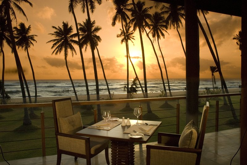 Romantic dining at the Pavilion