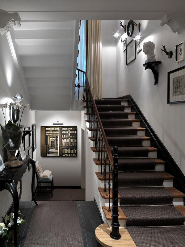 Stairway in the Historical Villa