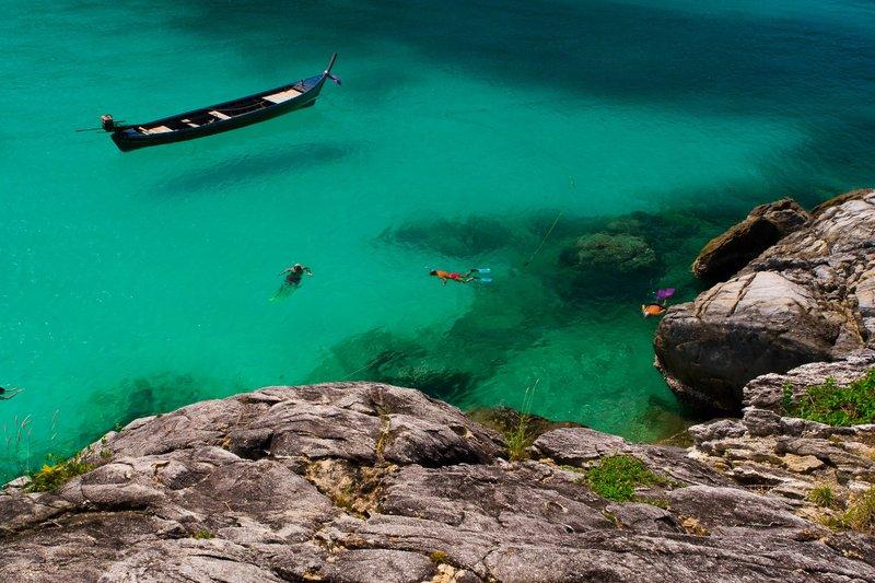 Snorkeling at Racha