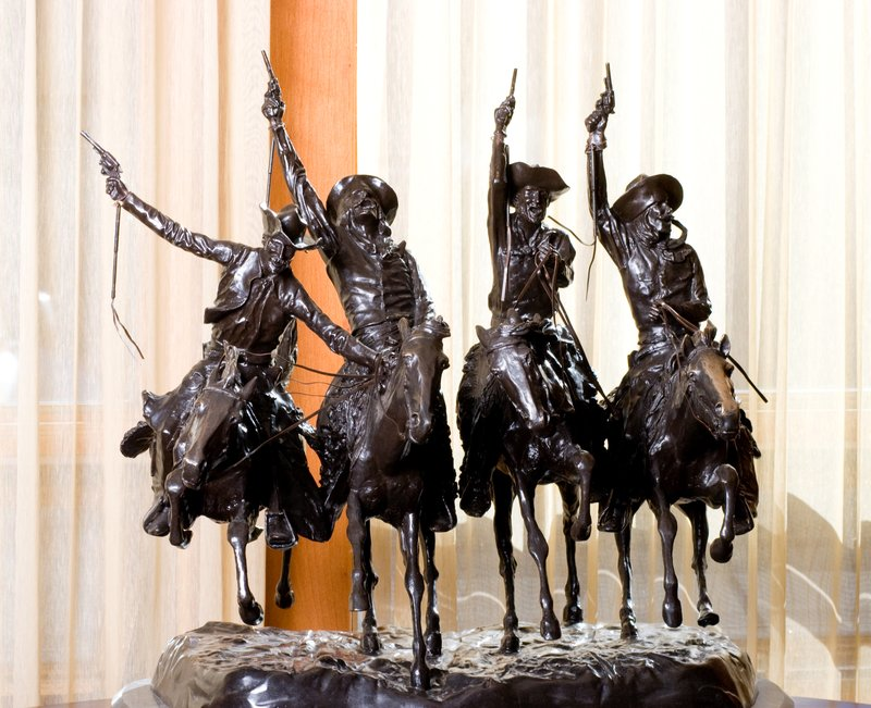 Lobby Bronze Sculpture