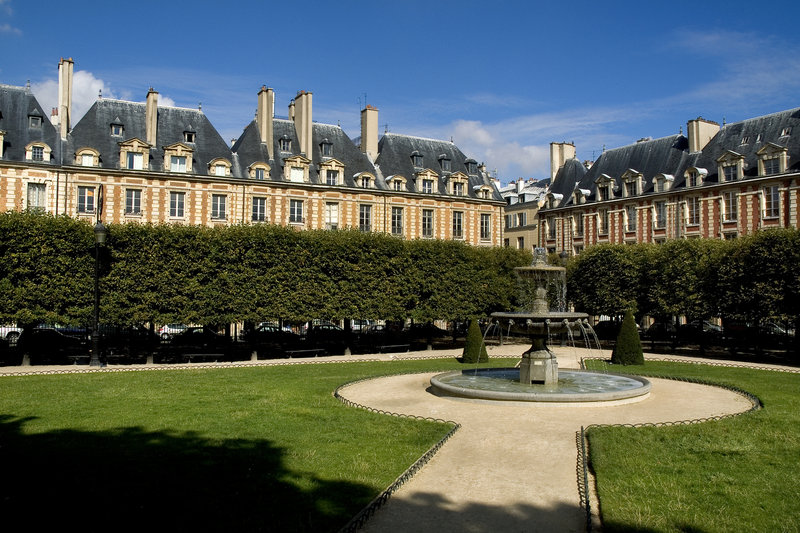 View of the Place des Vosges