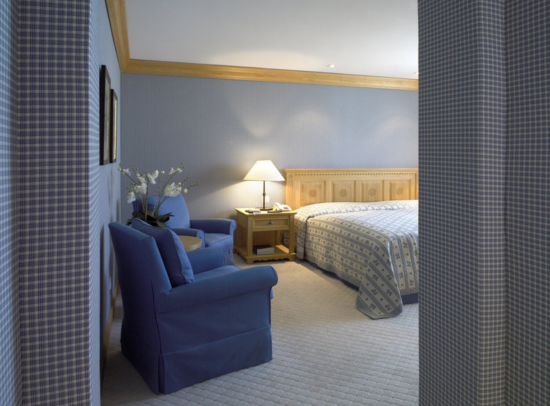 Bed room of the Bernina Suite