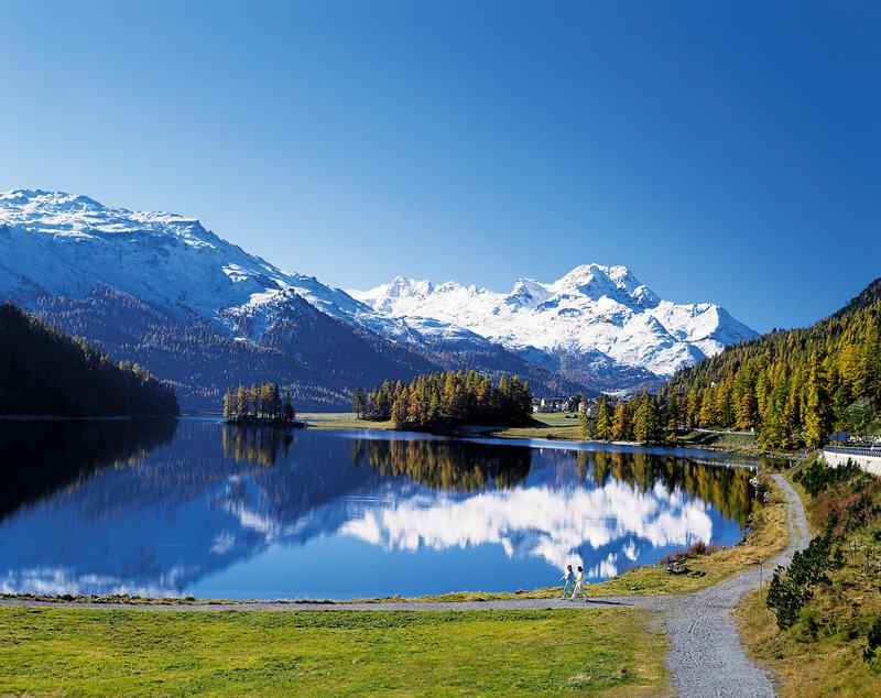 St. Moritz in Fall