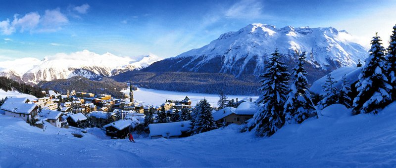 Spellbinding scenery and renowned ski country