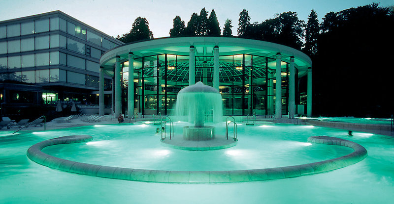 Caracalla Spa just 5 minutes from hotel