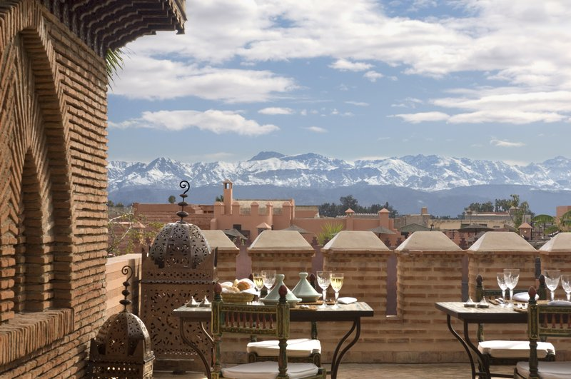 Panoramic Views of the Atlas Mountains