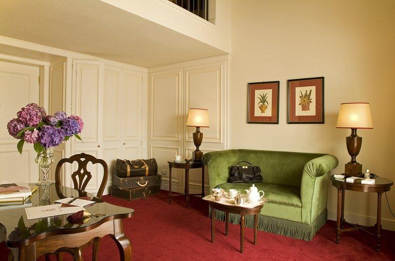 Junior Suite Duplex Living Room