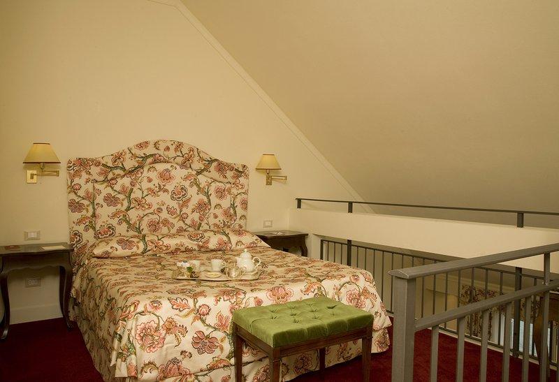Junior Suite Duplex Bedroom