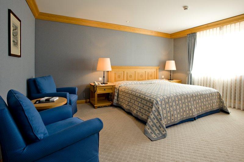 Bernina Suite Bedroom