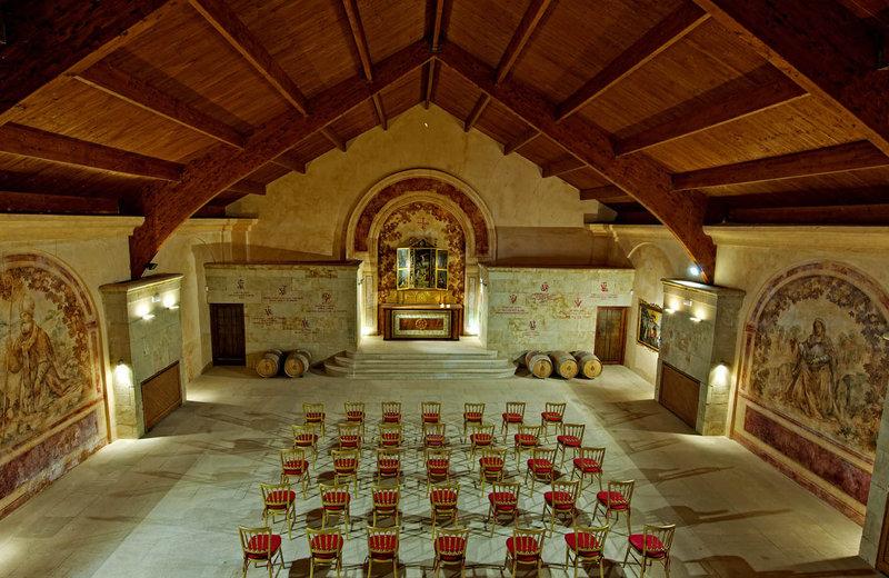 The Hacienda's private chapel