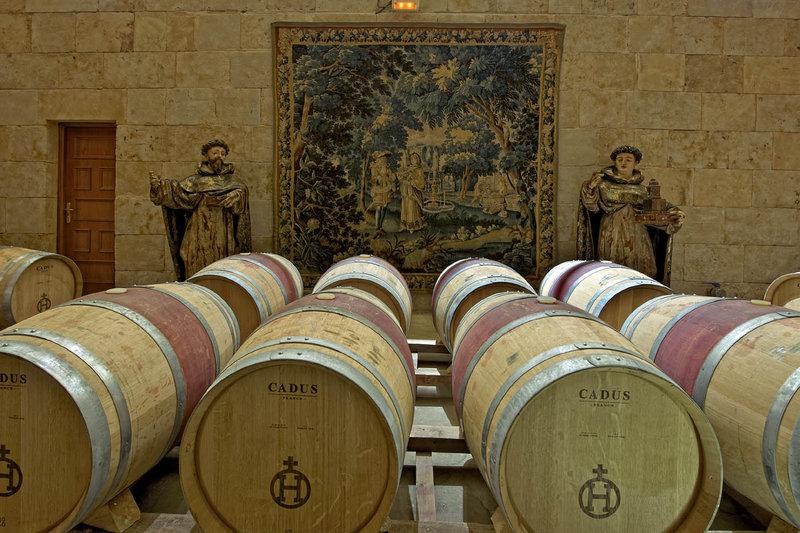 Magister wine barrels
