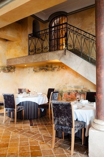 Restaurant gastronomique Les Fresques