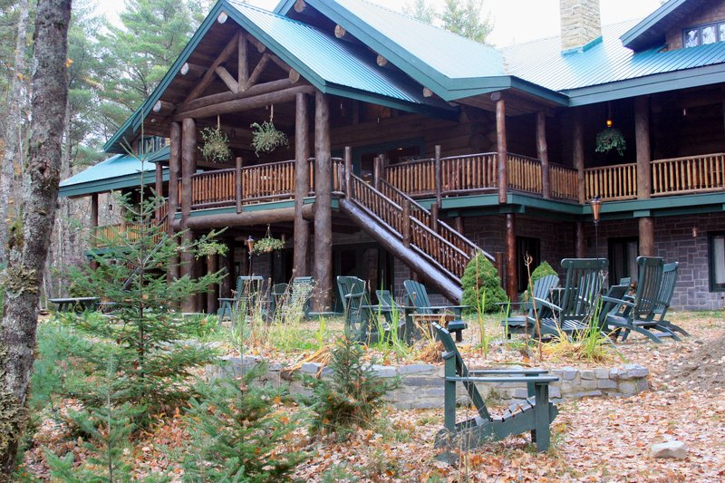 Great Lodge exterior (river side)
