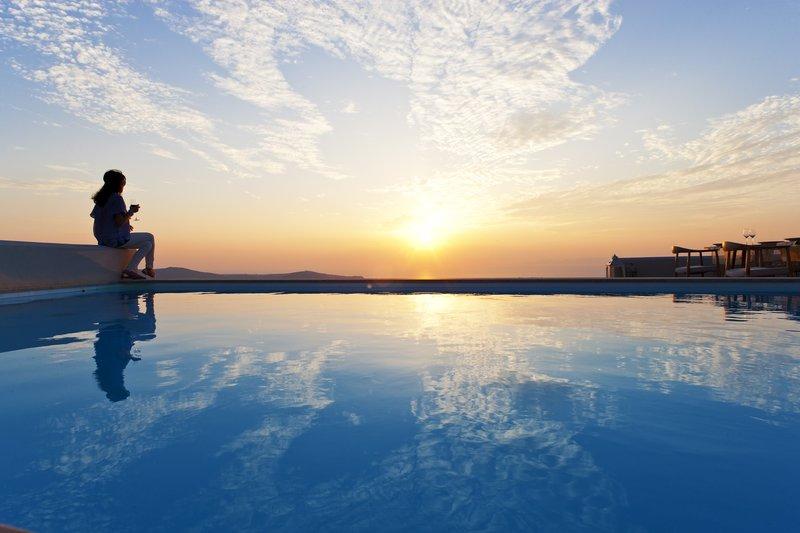 Swimming Pool with Caldera Views