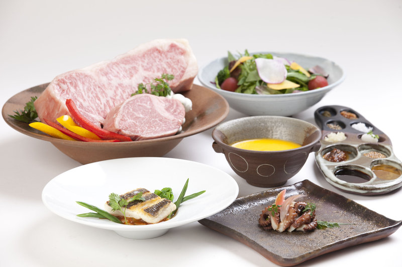 Kobe Beef Teppannyaki Dinner