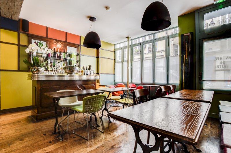 Honesty Bar & Breakfast Area