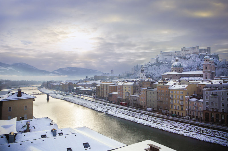 Salzburg in Winter