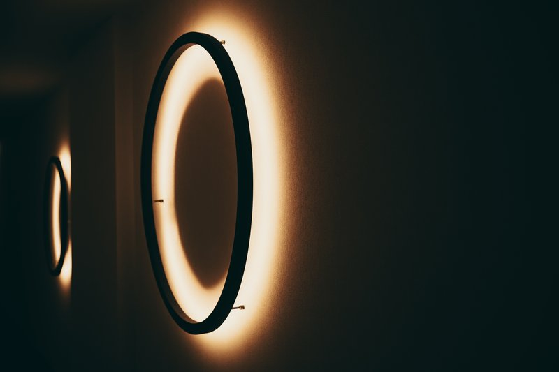 Detalle Iluminacion Pasillo