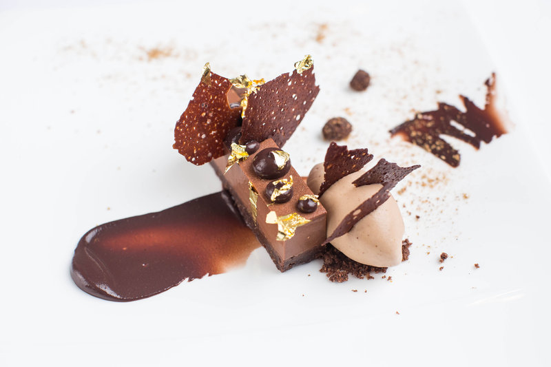 Ocean Restaurant - Chocolate Dessert