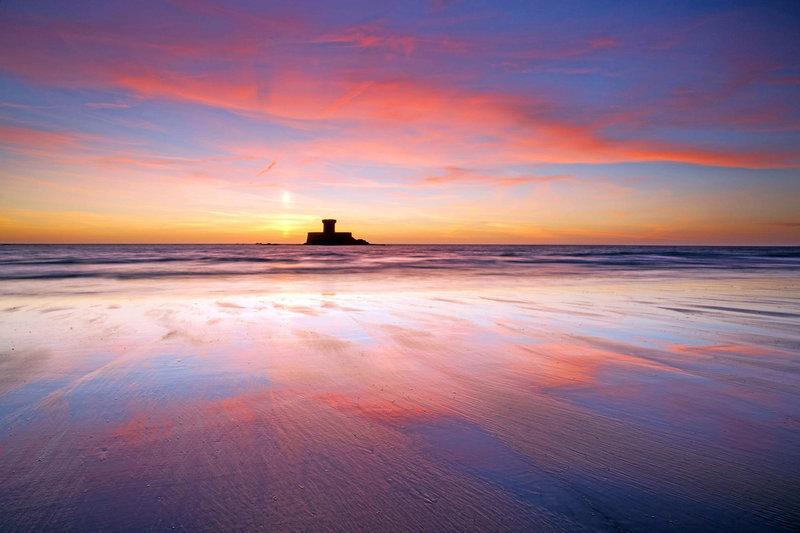 St Ouen's Bay sunset