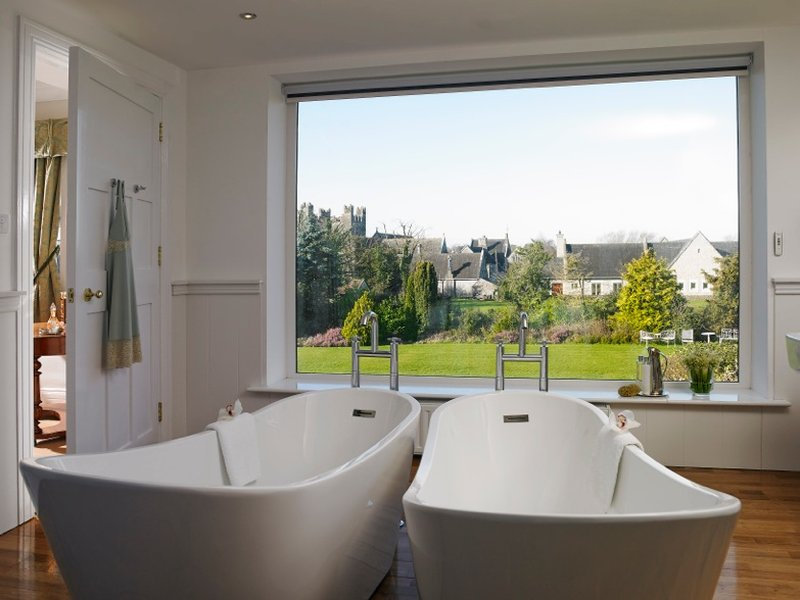 View From The Twin Bath Tubs