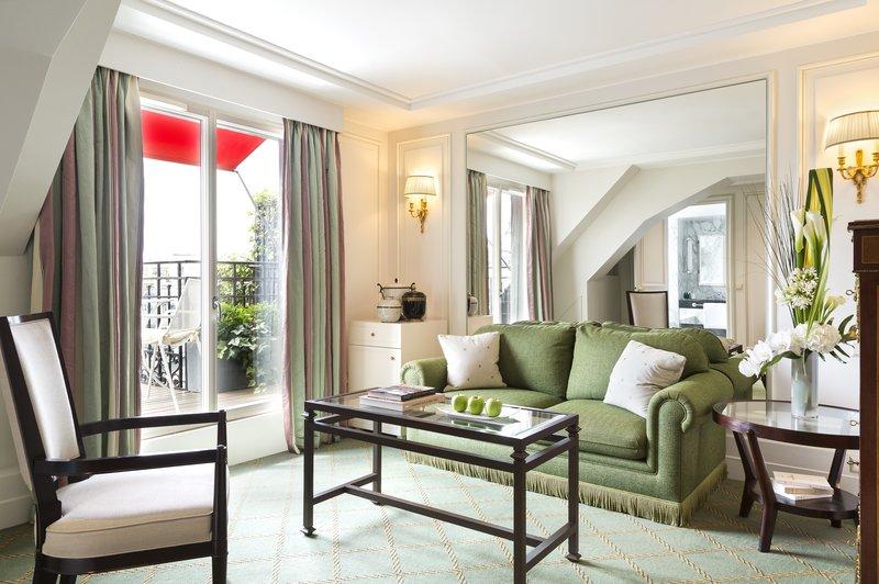 Terrace Junior Suite Living Room