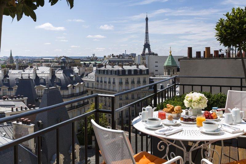 Terrace Junior Suite Balcony