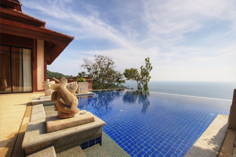 Hillside Ocean View Private Pool Villa