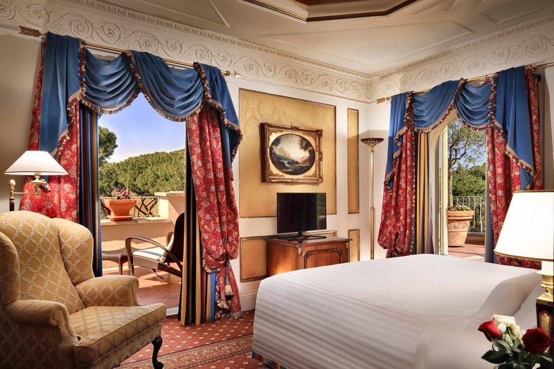 Villa Borghese Suite Bedroom
