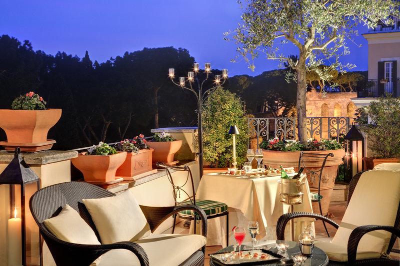 Villa Borghese - Terrace