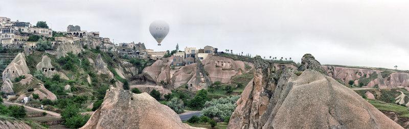 Views over Cappadocia