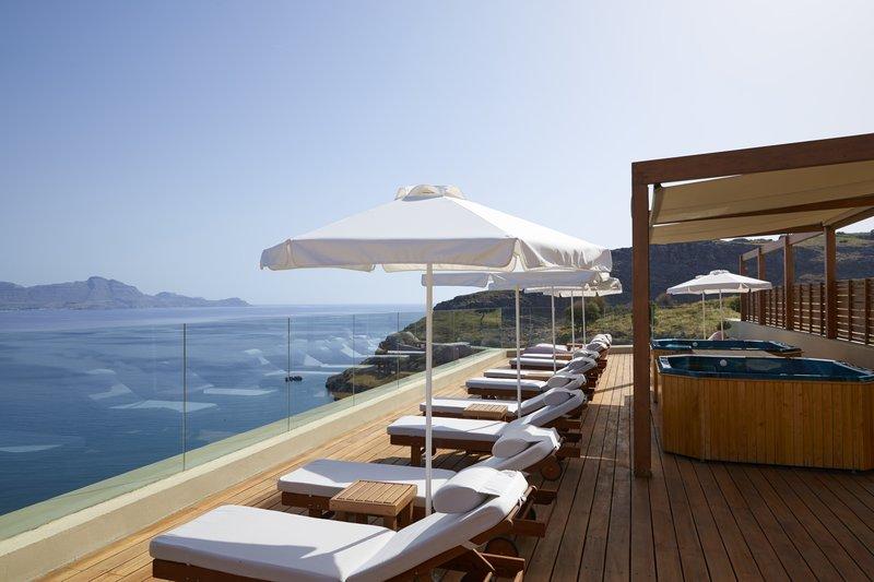 Lindos Blu Sun Terrace Jacuzzi