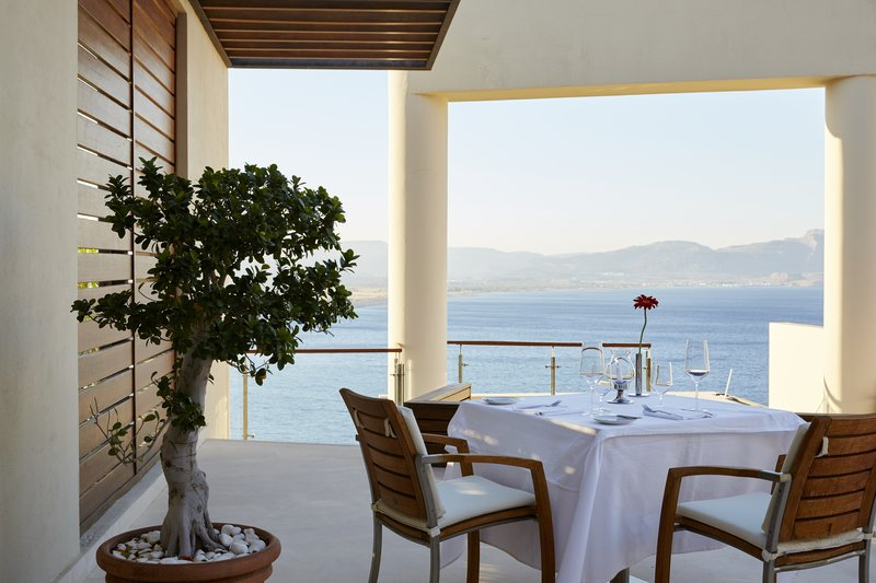Lindos Blu Five Senses Fine Dining Terrace