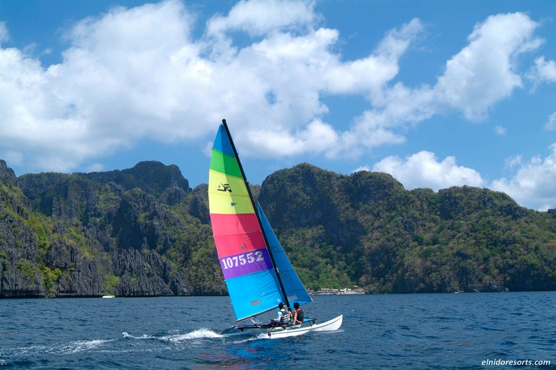 Hobie Cat Sail around the Islands