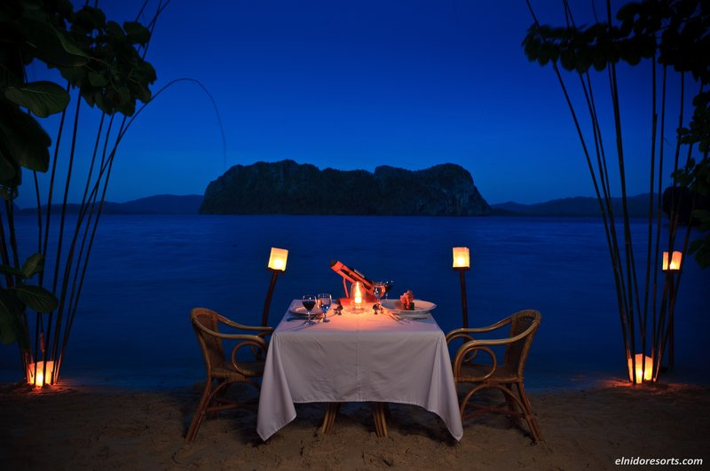 Private Island Dinner