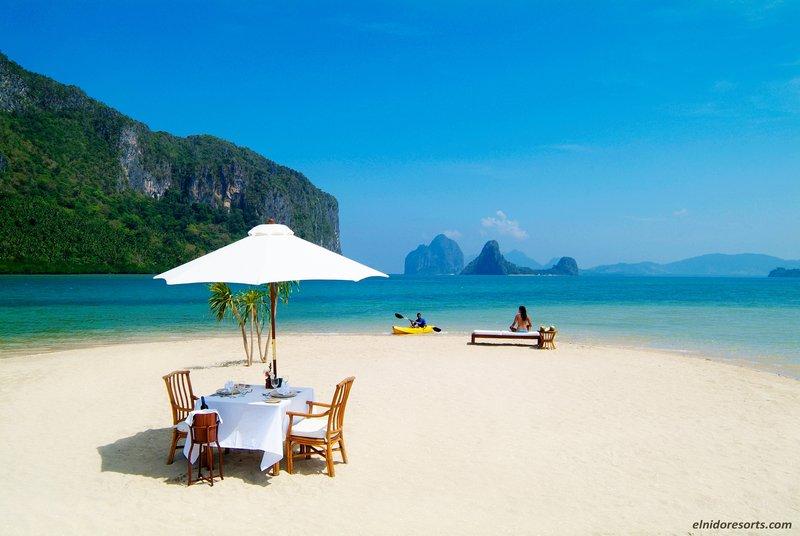 Sunbathing at the Sandbar