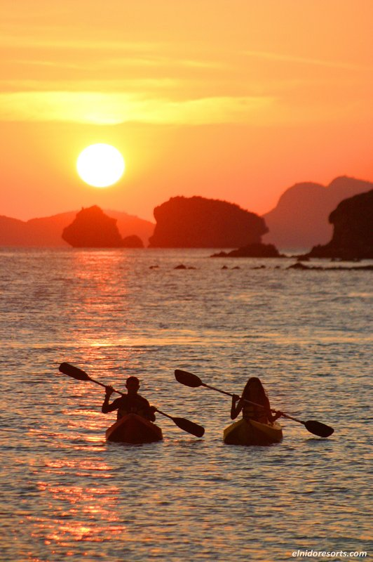 Sunrise Or Sunset guided kayak tour