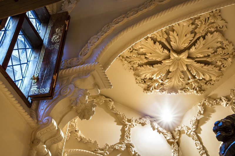 Queens Chamber ceiling