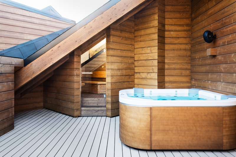Royal Suite Terrace & Jacuzzi