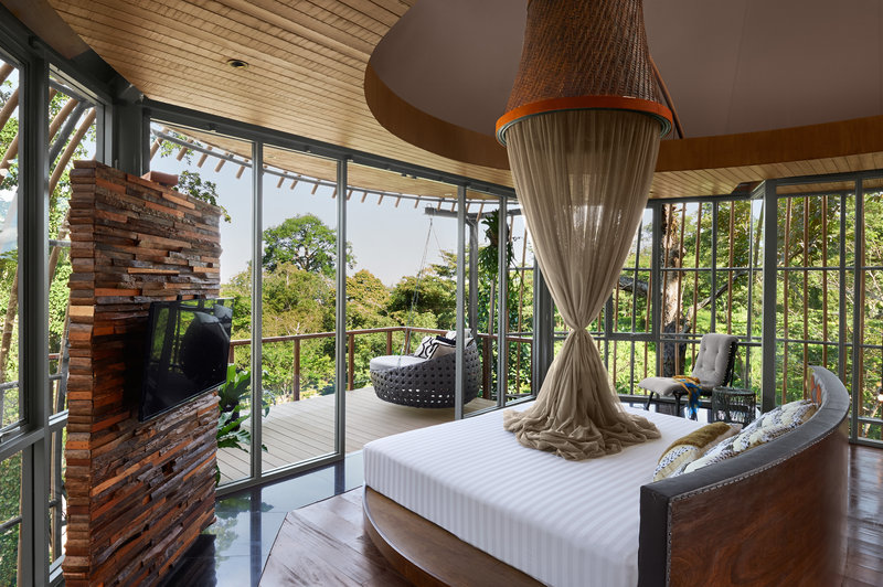 Tree Pool House Bedroom