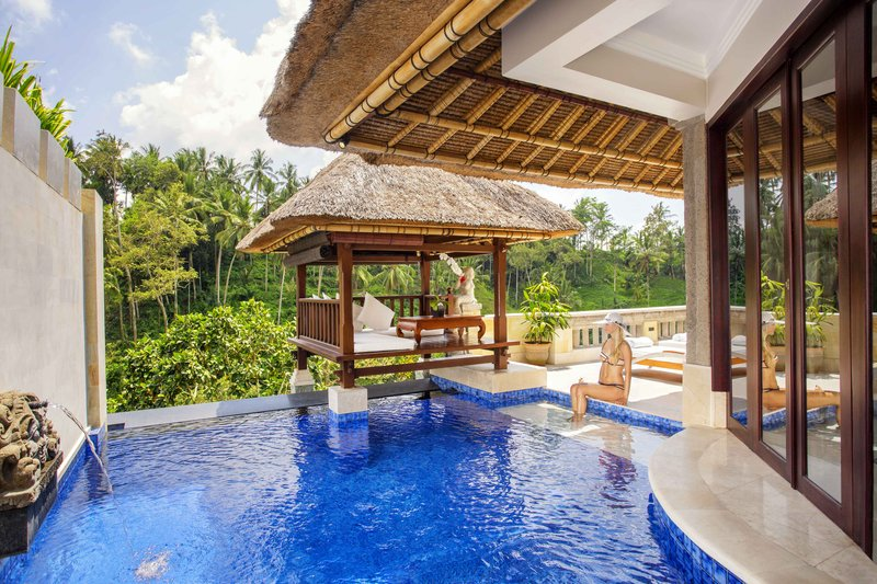 Terrace Villa Bale over Pool