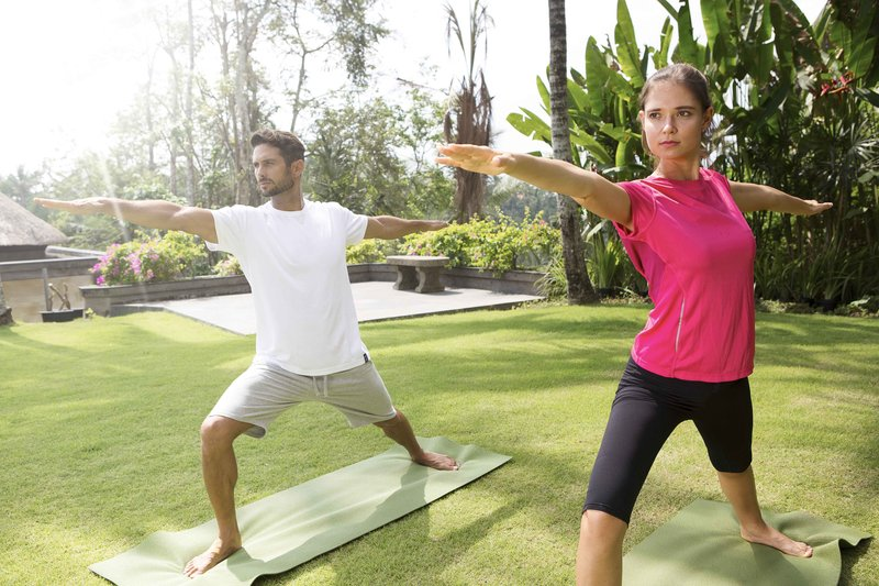 Yoga at the Garden