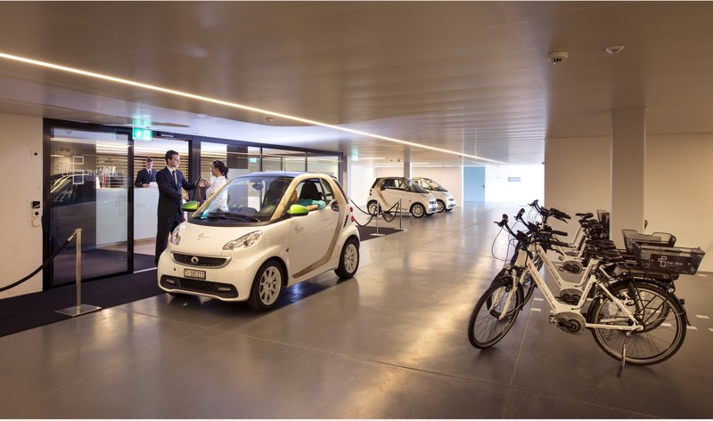Electric Smart car & electric bikes