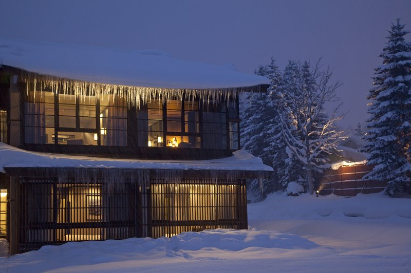 Picture-postcard winter wonderland