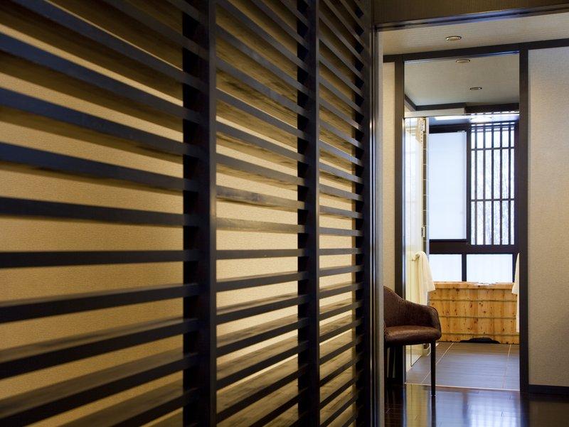 Designer master bathroom