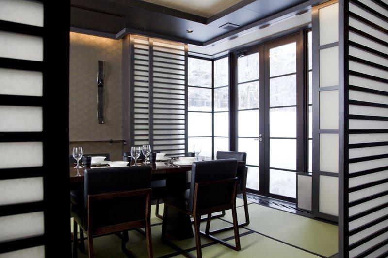 Tatami dining area